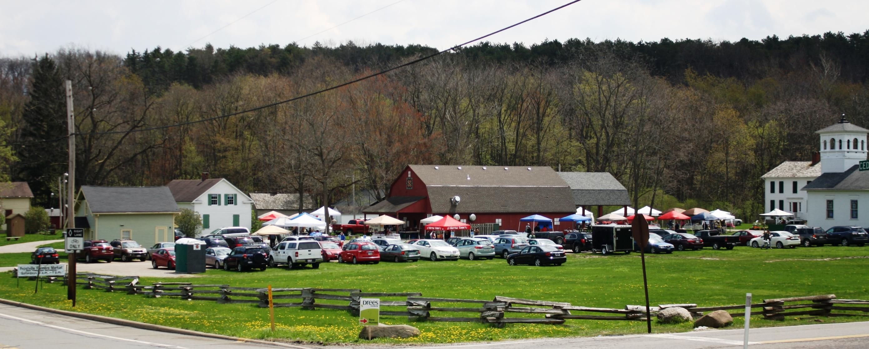 Farmers Market parking lot