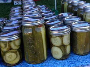 Delicious pickles are a MeadowSong Farm specialty!