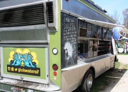 Green Machine food bus